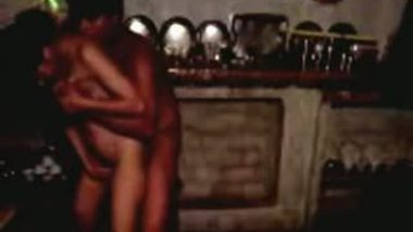 Hardcore home sex scandal of desi Indian wife in kitchen   Hindi