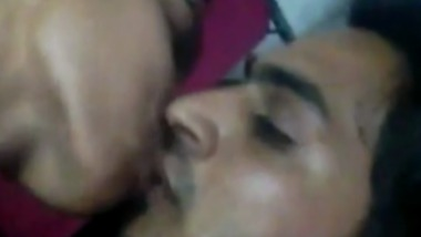 Horny Desi Mature Couple Making out after long time