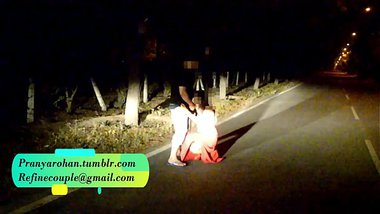 Hot Desi Slut Fucked In Middle Of Road
