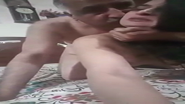Mature Indian milf aunty passionate doggy style sex | Hindi