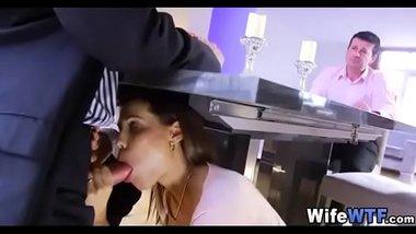 Slutty Wife Sucking Husband's Staff