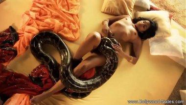 Bollywood Nude Babe's Sensational Striptease