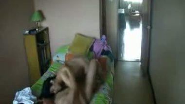 Hidden cam sex video of college guy fucking Mumbai bhabhi