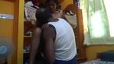Tamil maid and her owner encounter chut chudai when both alone at home