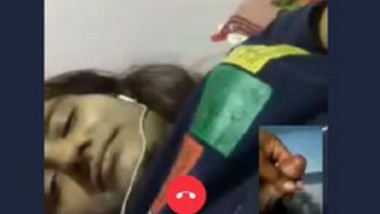 Desi cute girl video call with lover 3