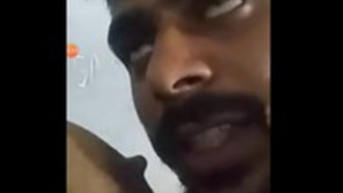 Desi Tamil Couple On Video call Boob Sucking and Pussy fingering