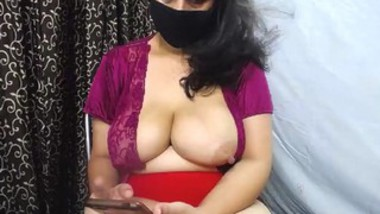 Desi bhbia webcam video