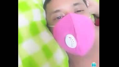 Desi couple fucking with mask