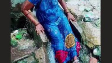Sexy Tamil Bhabi Nipples Visible though dress