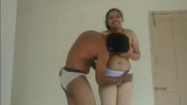 Hot Telugu Aunty In White Panty Kissed And Enjoyed