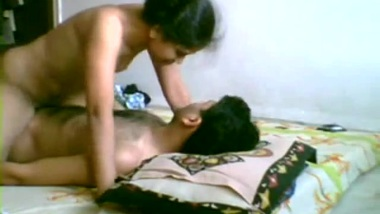 Desi female comes to XXX lover being happy with pussy-penetration in Bhabhi porn