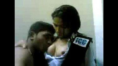 Pressing Boobs Of Hot Desi Teen