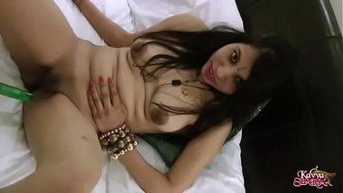 Sexy Gujarati Bhabhi Kavya Sharma Banged