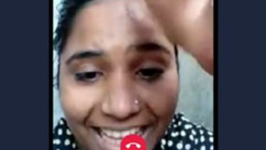 Village girl show pussy video call with lover