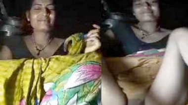 Hot Indian XXX female doesn't hide her sex opening making it known