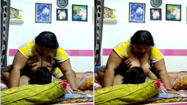 Fat Indian woman and her lover experience chudai in cowgirl XXX pose