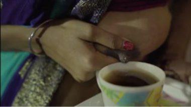 Sexy kamwali bai serving doodhwali chai