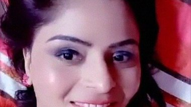 Indian model actress Gehana Vasisth sexy live video
