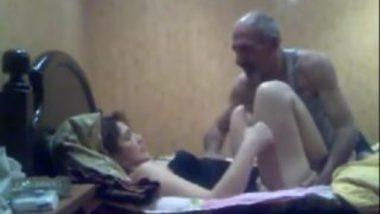 Rich old man hot sex with desi randi