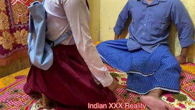 Best ever XXX Daughter Fucked by Dad before school with clear hindi voice