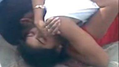 Bhabhi ki chudai in terrace caught on cam