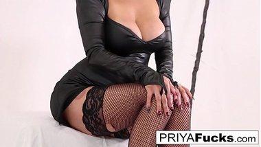 Priya Rai welcomes Halloween with a b. bath!