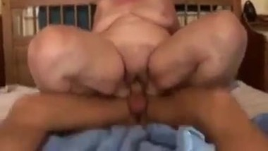 My stepgrandma really enjoyed after along time with my penis she suck my cock a