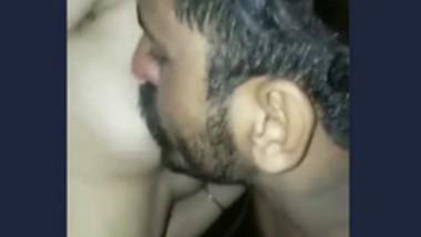 Punjabi Couple Romance and Boob Sucking