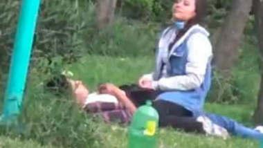 Desi Lovers Having Fun in Park