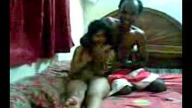 Desi home sex clip video of hot woman fucking watchman.