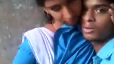 Teen college girl making her hot selfie with lover