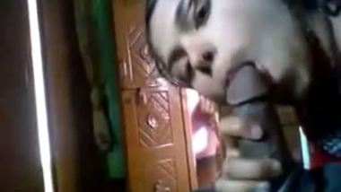 Indian hot blowjob by unsatisfied horny desi bhabhi to ex-lover