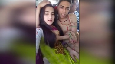 Indian lesbian adventures of my wife with some cheap blonde hooker