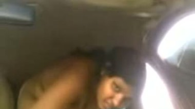 Indian big boobs maid fucked in car by owner mms