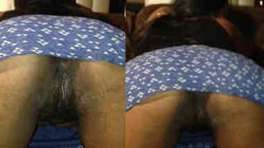 Obedient Desi gal bends over to show XXX pussy that needs sex drilling