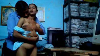 Telangana private company leaked desi office sex