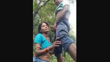 Odia Couple OutDoor Romance and Blowjob
