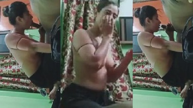 Indian sexy girl blowjob to her cousin brother