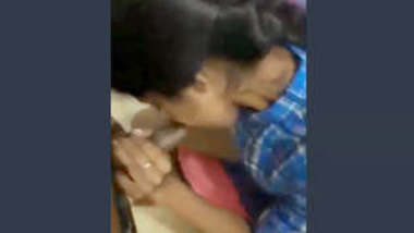Indian Hot College Babe Sucking Her Lover Dick