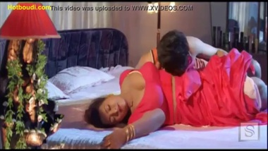Big boobs tamil actress in bed