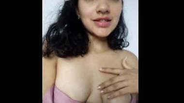 Desi Cute girl in Nighty showing her Hot Body